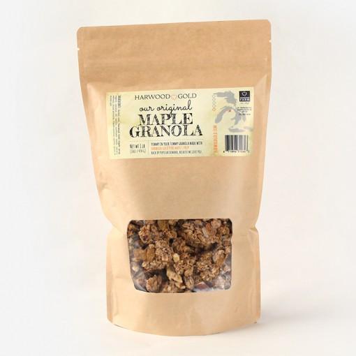 Harwood Gold Maple Granola