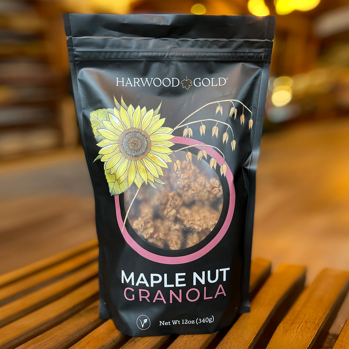 Harwood Gold Maple Nut Granola