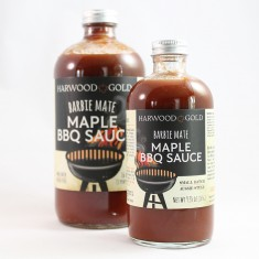 Harwood Gold Maple BBQ Sauce
