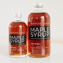 Harwood Gold Amber Pure Maple Syrup