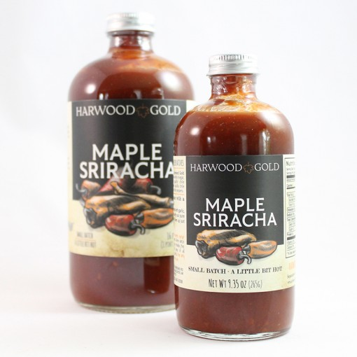 Harwood Gold Maple Sriracha