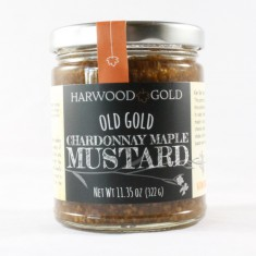Harwood Gold Chardonnay Maple Mustard