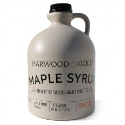 Harwood Gold Half-gallon maple syrup