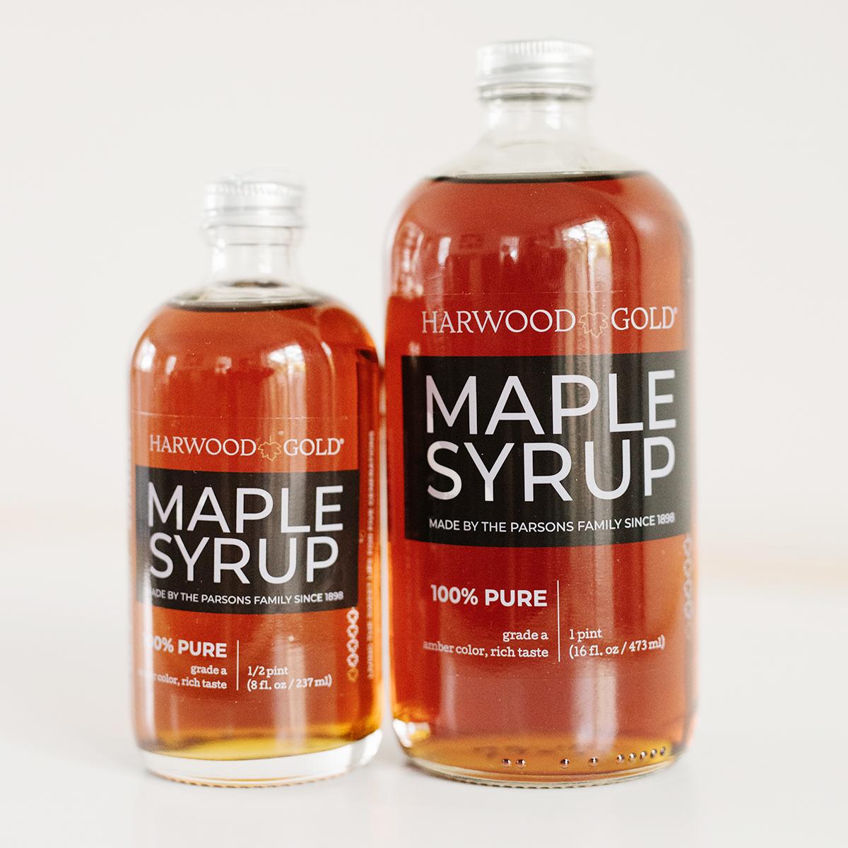 Harwood Gold Amber Maple Syrup