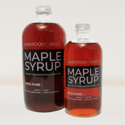 Harwood Gold Dark Maple Syrup