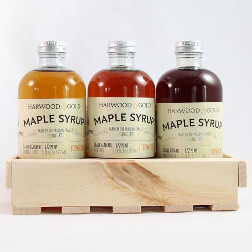 Harwood Gold Maple Syrup Tasting Flight