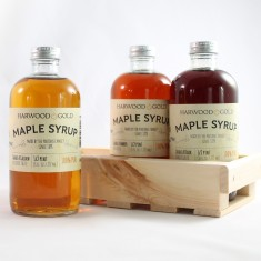 Harwood Gold Maple Syrup Tasting Flight