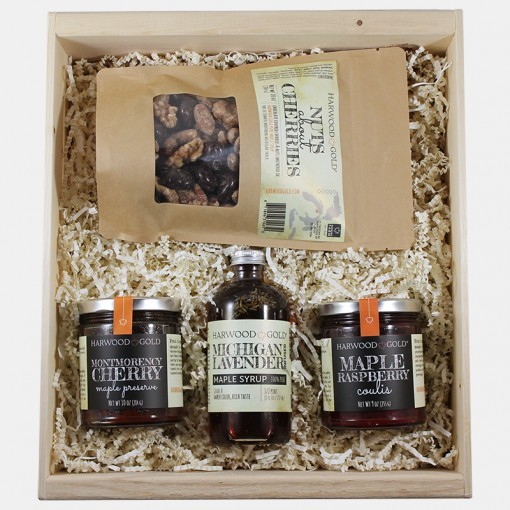 Harwood Gold Michigan Finest Gift Box