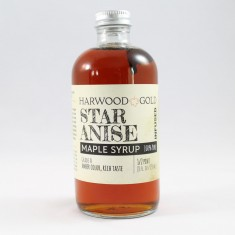 Harwood Gold Star Anise Maple Syrup Infusion