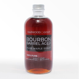 Harwood Gold Bourbon Barrel Aged Maple Syrup