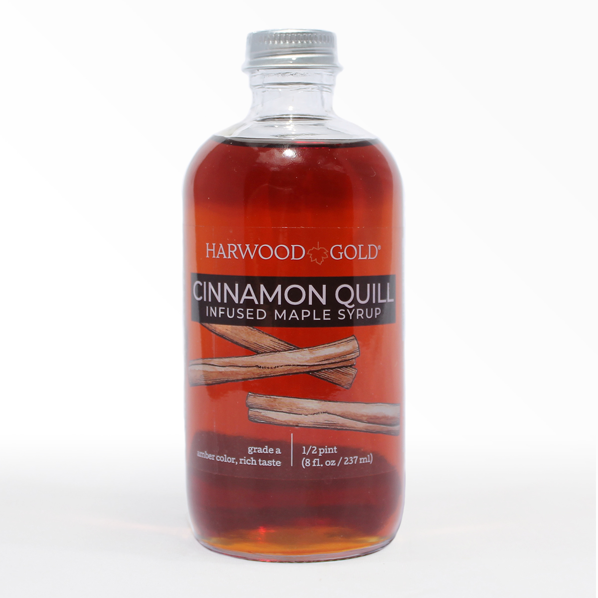 Harwood Gold Cinnamon Quill Infused Maple Syrup