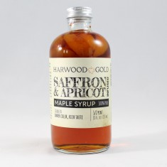 Harwood Gold Saffron and Apricot Maple Syrup Infusion