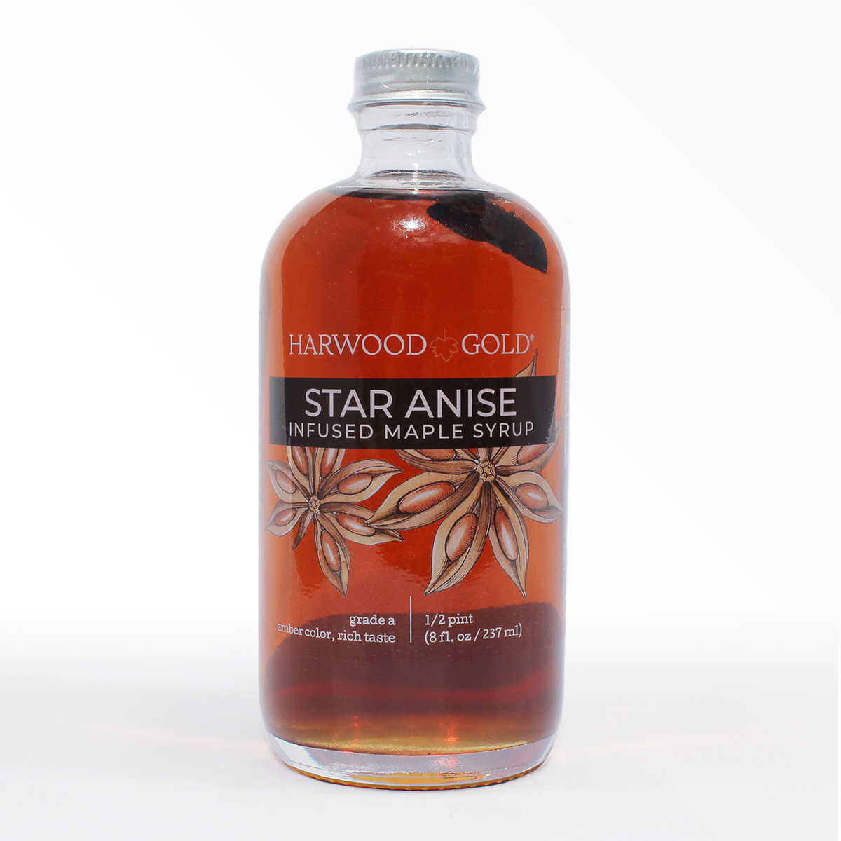 Harwood Gold Star Anise Infused Maple Syrup