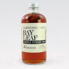 Harwood Gold Bay Leaf Maple Syrup Infusion