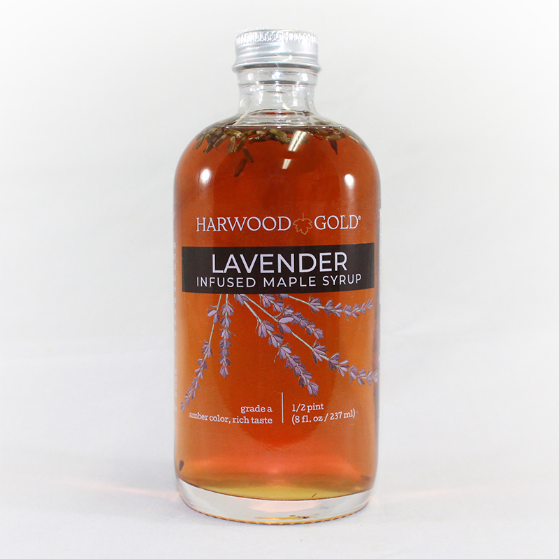 Lavender Infused Maple Syrup Harwood Gold Purely Maple Syrup