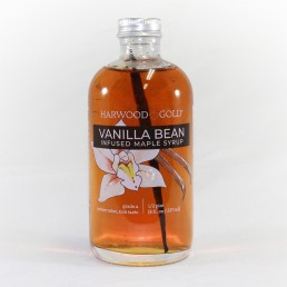 Harwood Gold Vanilla Bean Infused Maple Syrup