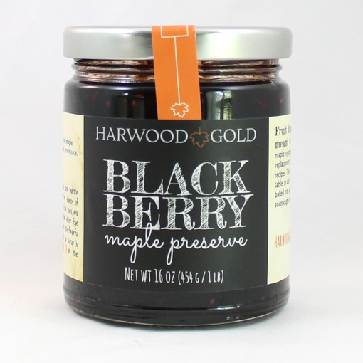 Harwood Gold Blackberry Maple Preserve
