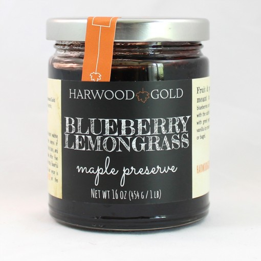 Harwood Gold Blueberry Lemongrass Maple Preserve