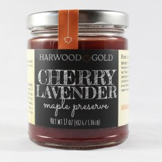 Harwood Gold Cherry Lavender Preserve