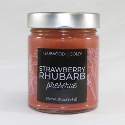 Harwood Gold Strawberry Rhubarb Preserve