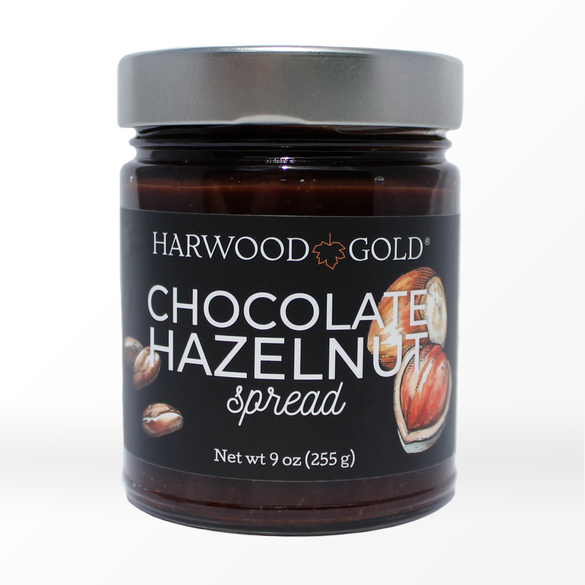 Harwood Gold Chocolate Hazelnut Maple Spread