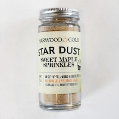 Harwood Gold Star Dust Sweet Maple Sprinkles