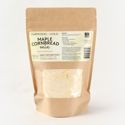 Harwood Gold Maple Cornbread Mix