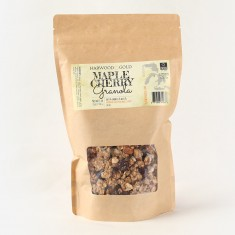 Harwood Gold Maple Cherry Granola