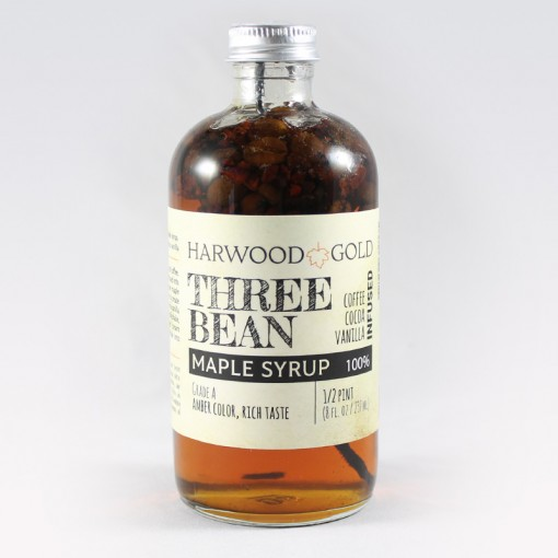 Harwood Gold Three Bean Infused Pure Maple Syrup