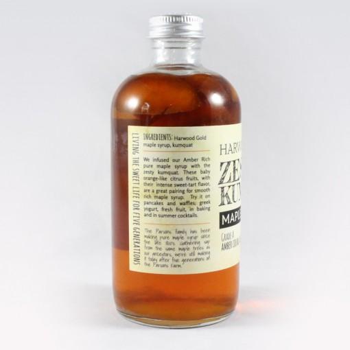 Harwood Gold Zesty Kumquat Infused Maple Syrup