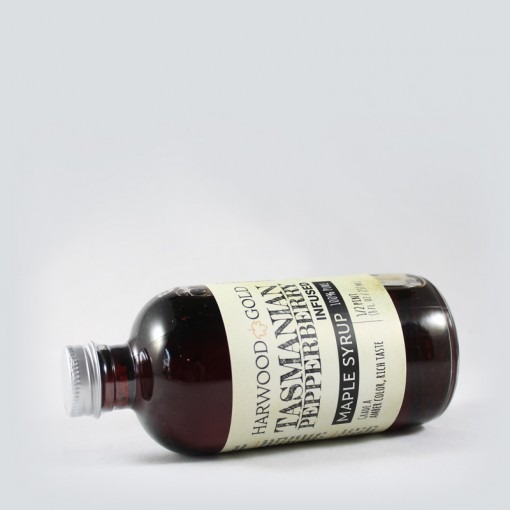 Harwood Gold Tasmanian Pepperberry Infused Pure Maple Syrup
