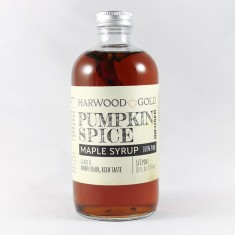 Harwood Gold Pumpkin Spice Infused Maple Syrup