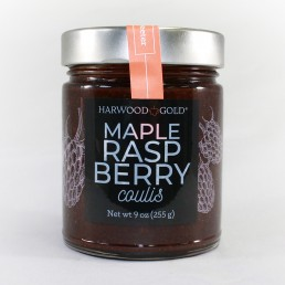 Harwood Gold Maple Raspberry Coulis