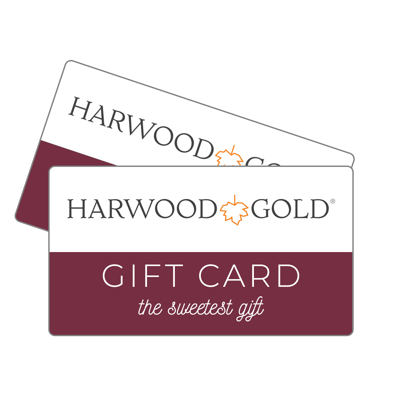 Harwood Gold Gift Card